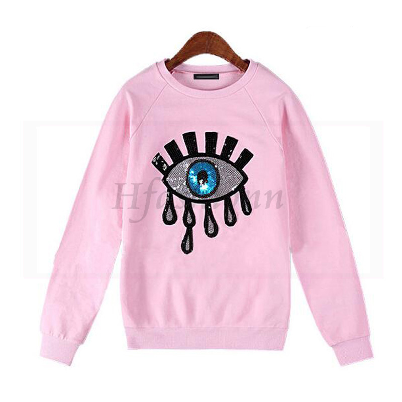 Harajuku VS Love Pink Sweatshirt Women Winter Fleece Crop Hoodies ...