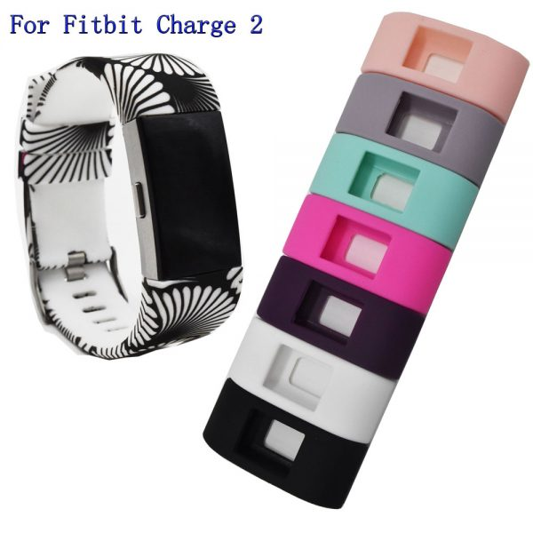 silicon rubber casesband for fitbit charge 2 sports