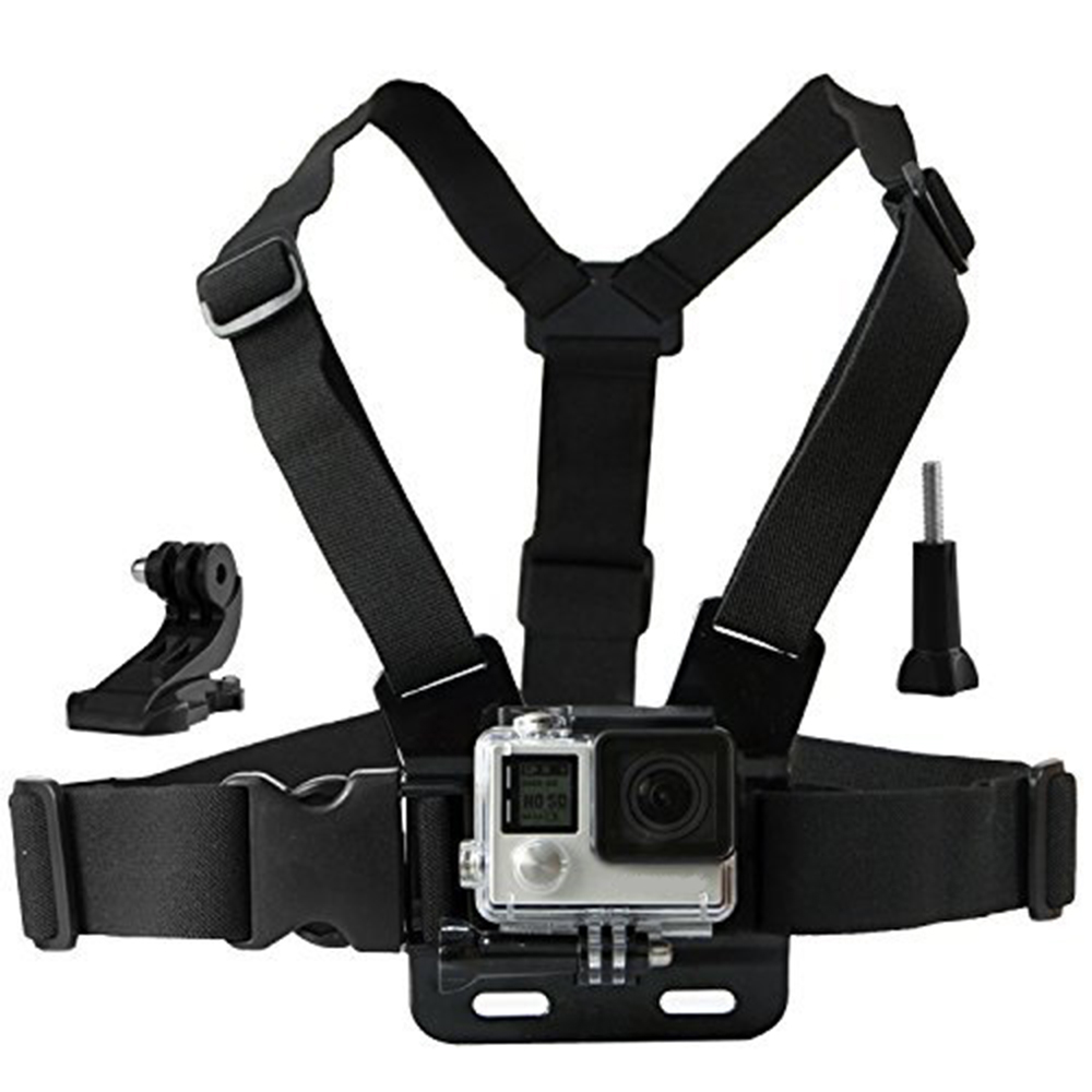 Action camera Chesty Strap for Gopro hero 5 4 SJCAM SJ4000 Chest Mount Harness for Go Pro SJCAM Xiaomi yi sport camera 10
