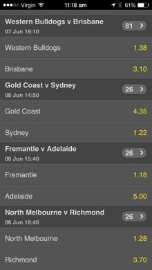 bet of the week bet365 odds