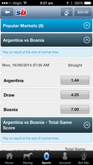 world cup betting with sportingbet