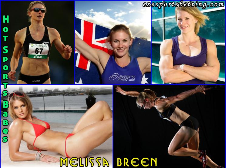 Hottest Sports Babes Melissa Breen hot sports babes