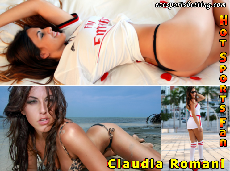hot sport fan hot Claudia Romani Hot sport babe