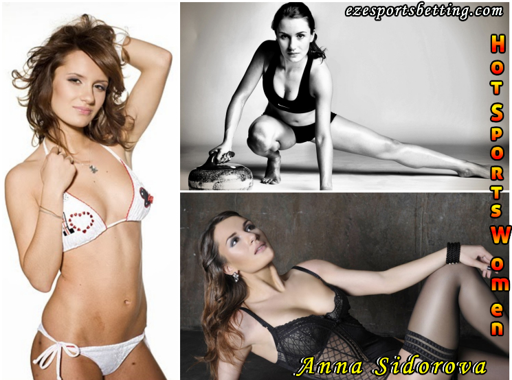 curling hot sports babe Anna Sidorova