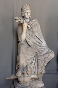 Tyche Lady Luck Greek Goddess