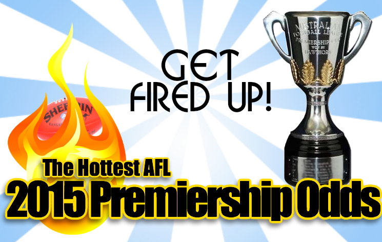afl 2015 premiership odds