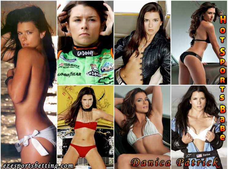 sexy danica patrick hot sports babe collage