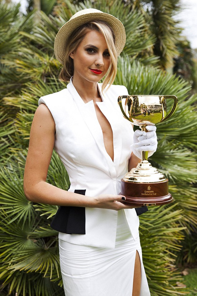 hot sports babes Laura Dundovic Melbourne Cup hot sports babes