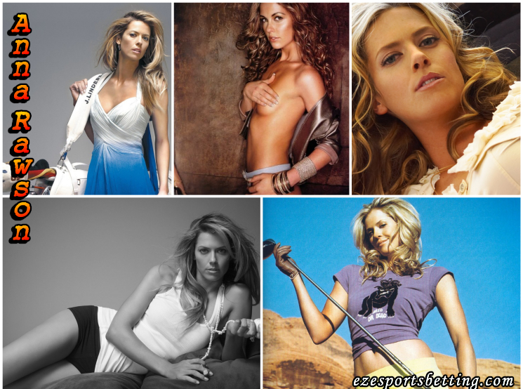 Anna Rawson Hot Sports Babe Collage