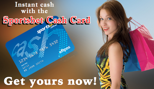 how to use sportsbet card