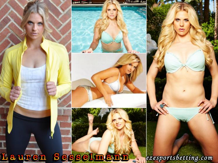Sexy Lauren Sesselman Hot Sports Babe collage
