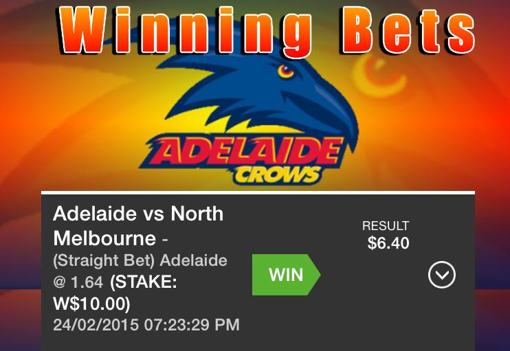 Winning Bets