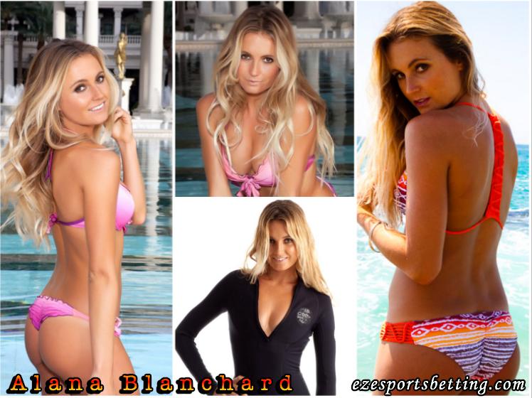 Alana Blanchard hot sports babes
