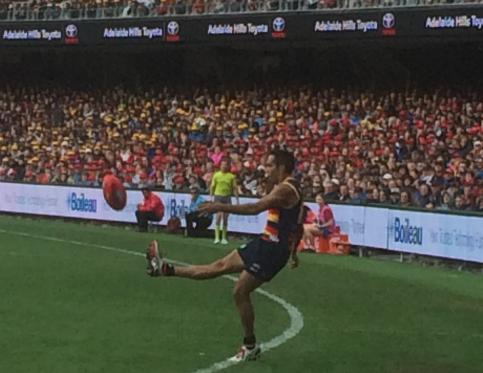 Eddie Betts Adelaide vs melbourne