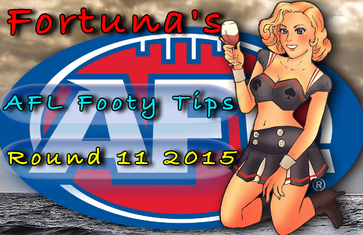 Fortuna round 11 afl footy tips
