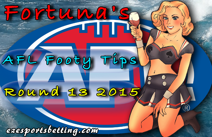 Fortuna round 13 afl footy tips