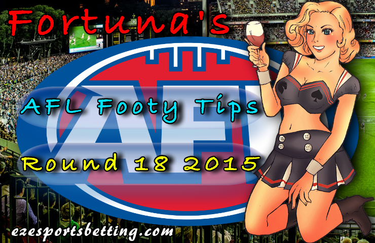 Fortuna's AFL Footy Tips Round 18