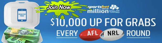 join sportsbet million dollar tipping