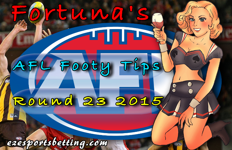 Round 23 AFL Footy Tips