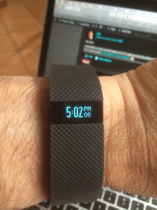 Fitbit Charge HR interesting sports stuff
