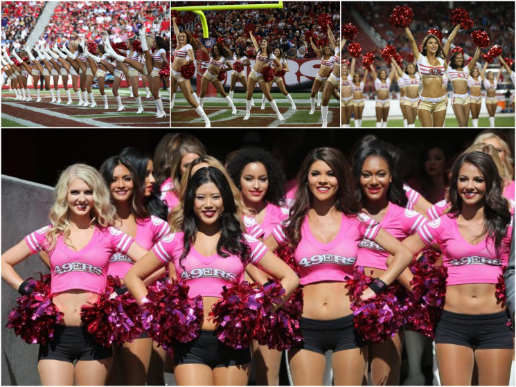 49ers Gold Rush Cheerleaders Jarryd Hayne hot sport babes choice