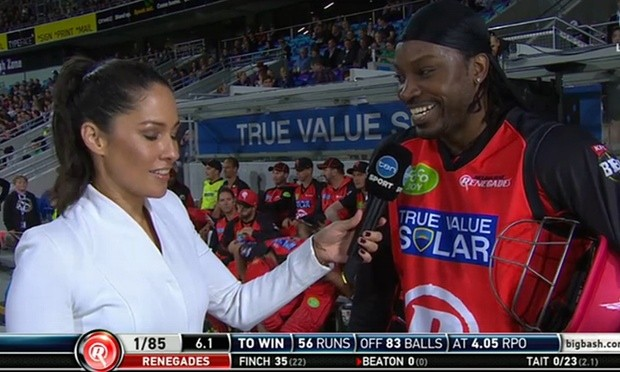 Chris Gayle Mel McLaughlin Controversy