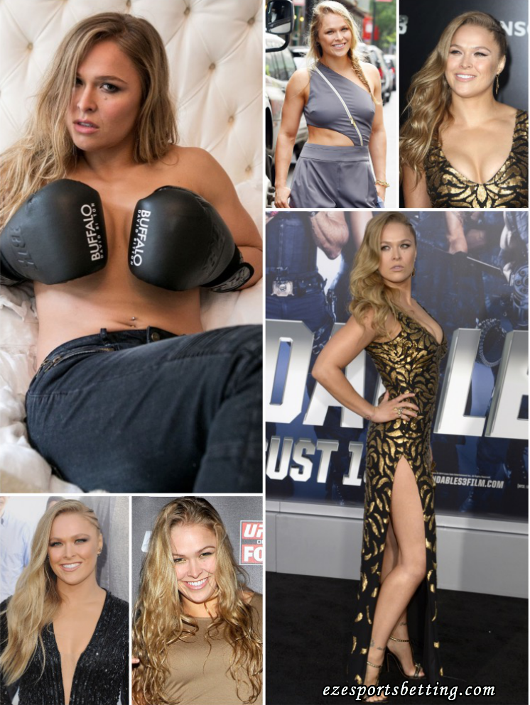 what is Ronda Rousey up to