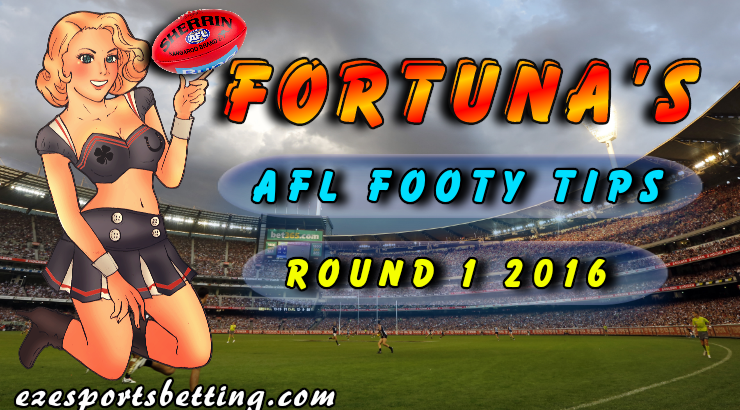 AFL Footy Tips Round 1 2016