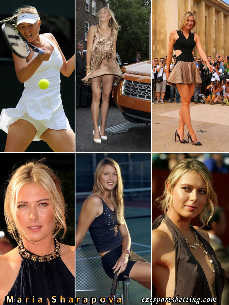 Maria Sharapova hot sports babe hall of fame