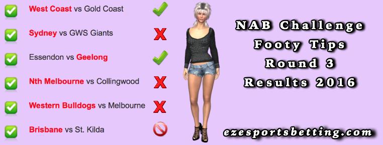 NAB Challenge Round 3 results