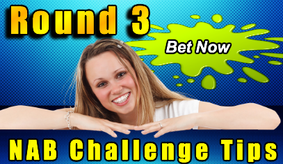 round 3 NAB Challenge betting tips
