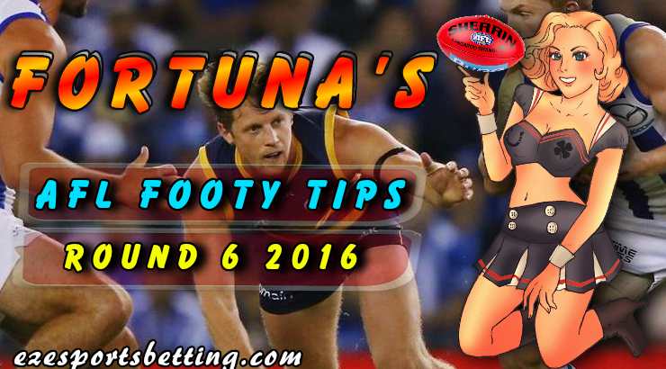AFL Round 6 Footy Tips 2016 and best online sports betting ...