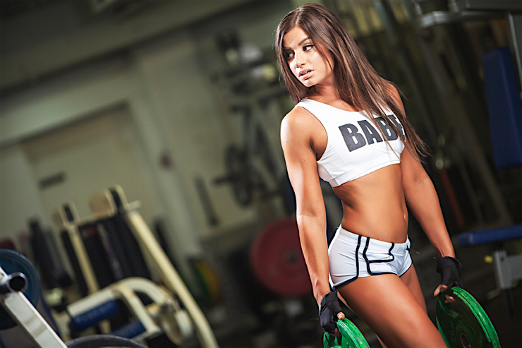 hot asports babes gym workout