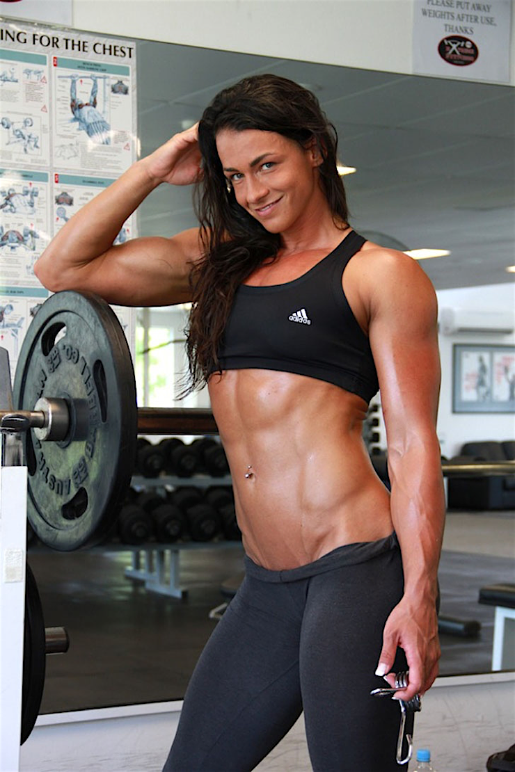 hot sports babe gym babe arms