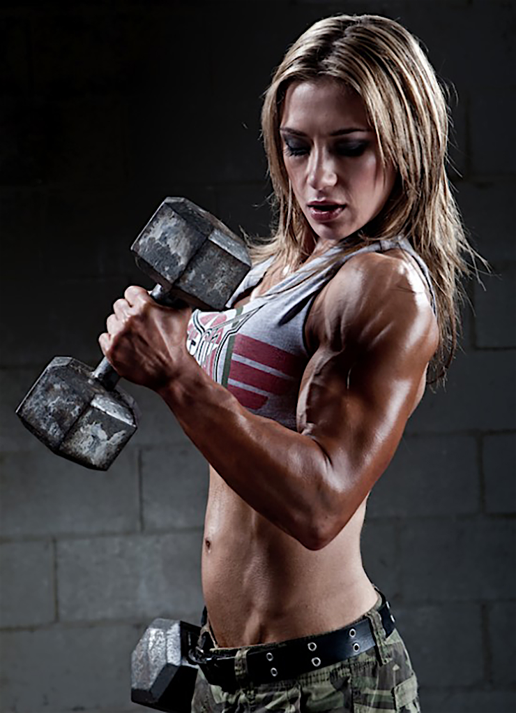 hot sports babe gym babe muscles