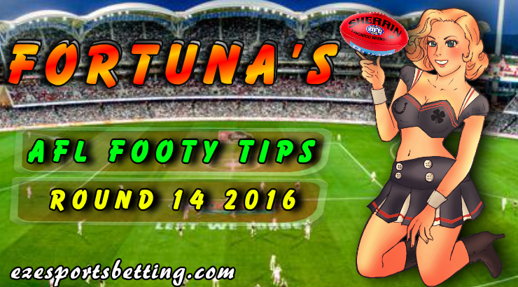 Fortuna's AFL Footy Tips Round 14 2016