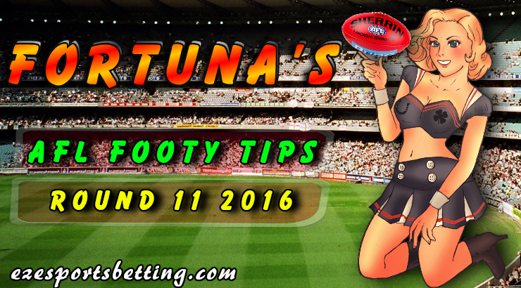 Round 11 AFL Footy Tips 2016