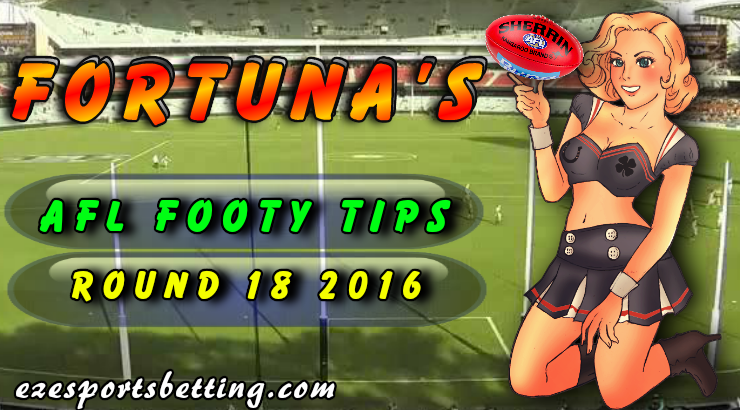 AFL Footy Tips Round 18 Fortuna's Tips