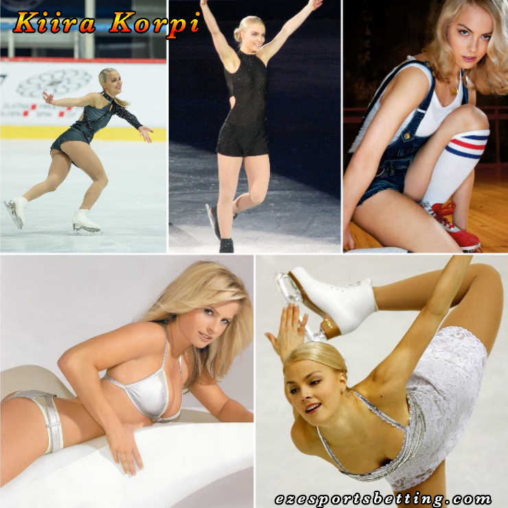 Kiera Korpi Hot Sport Babe collage