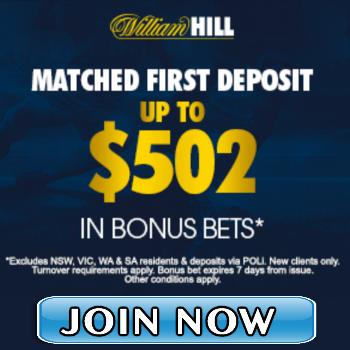 william hill bonus bets