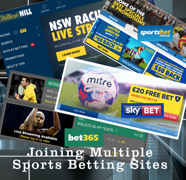 Joining Multiple Sports Betting Sites