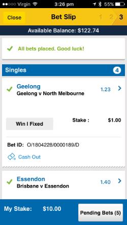 AFL round 2 multibet