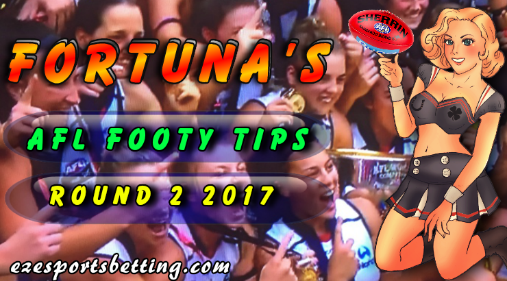 Fortuna's AFL Round 2 2017 Tips