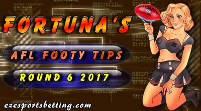 AFL Round 6 Tips 2017