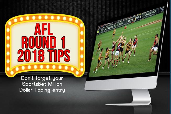 AFL Round 1 2018 Tips