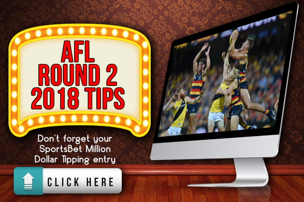 AFL Round 2 2018 Tips