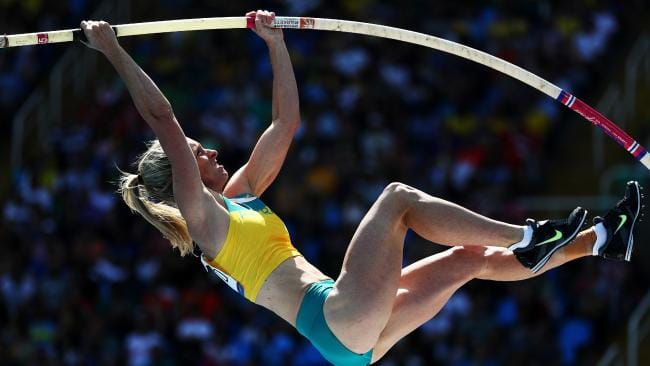 Alana Boyd hot female pole vaulter