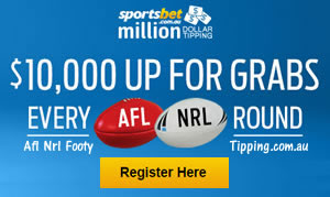 million dollar tipping competition