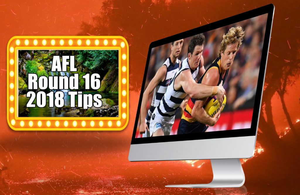 AFL Round 16 2018 Tips