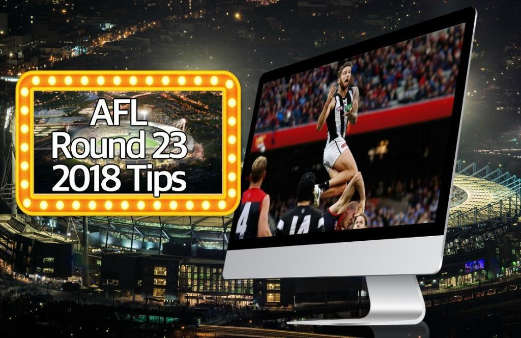 AFL Round 23 2018 Tips